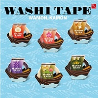 WAMON KAMON WASHI TAPE(マスキングテープ)